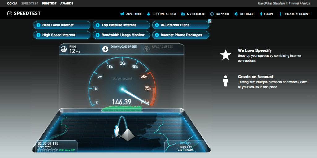 Fastest free wifi